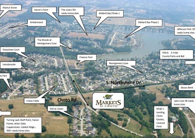 Aerial Map of Neighborhood